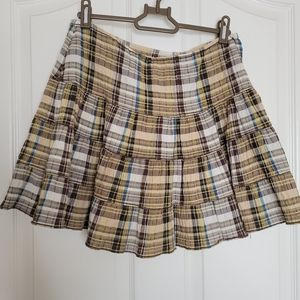 Brown and gold skirt